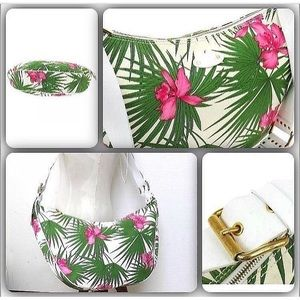 "This Beautiful ""CELINE"" Orchid and Palm Beach Bag."